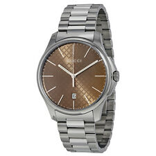 Gucci G-Timeless Stainless Steel Mens Watch YA126317