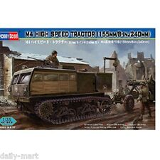 HobbyBoss 1/35 82408 M4 High Speed Tractor 155mm/8-in./240mm Model Kit