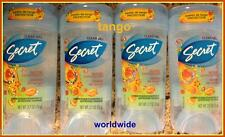 4 Secret Pasion de Tango Gel Deodorant Antiperspirant powerful & gentle fresh