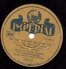 Traute Rose Metropol Theater Berlin 1942 :So stell ich mir die Liebe vor