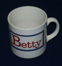 Out of My Mind Houze Betty With a Capital B Coffee Mug Tea Cup Collectible