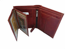 Leather wallet for men in Brown