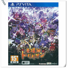 PSV Makaishin Trillion 魔壞神 中文版 SONY PLAYSTATION Games Compile Heart