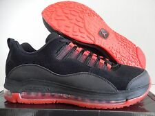 NIKE JORDAN CMFT AIR MAX 10 97 2009 BLACK-CHALLENGE RED SZ 12.5 [442087-002]