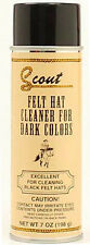 Scout Felt Hat Cleaner Spray Dark Color Felt Hats Cleans And Removes Stains 7 OZ
