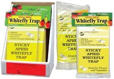 Whitefly Trap 5 pack - aphid fruit fly house plant insect sticky pest control