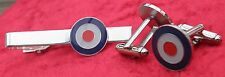 RAF Target Mod Mods Bullseye Cuff Links & Tie Bar Clip Cufflinks Set