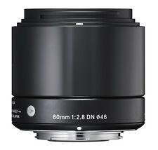 Sigma 60mm F2.8 DN 'A' Lens - Micro Four Thirds Fit in Black (UK Stock) BNIB