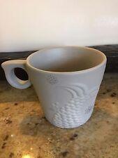 New 2016 Starbucks Holiday Grey Siren Mermaid Tail Anniversary Mug 12oz.