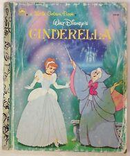 Walt Disney's Cinderella / Little Golden Book (1991 - Board Book)