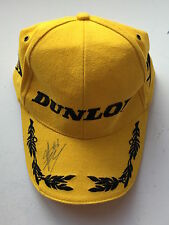 James Toseland Hand Signed Dunlop Podium Cap Superbikes.