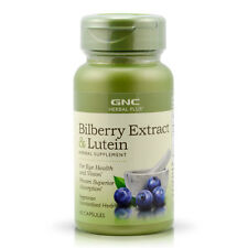 GNC Herbal Plus Bilberry Extract Lutein