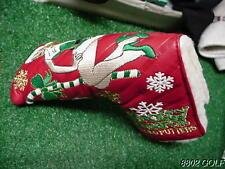 New Titleist Scotty Cameron 2009 Christmas Holiday Lena Claus Putter Headcover