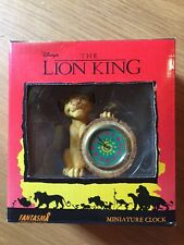 Disney's The Lion King Miniature Clock With Box, New & Nice!