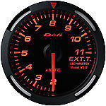 Defi Racer Gauge 52mm Exhaust Temperature Meter DF06805 Red