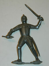 vintage FIGURINE LOUIS MARX & co SOLDAT MEDIEVAL CHEVALIER 1964 knight Ritter