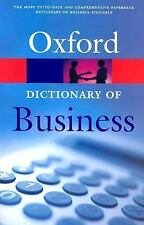 A Dictionary of Business (Oxford Paperback Reference)