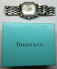Mark Coupe TIFFANY & CO Men's Resonator Quartz Stainless Steel WATCH w/ Box