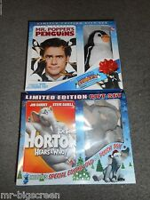 HORTON HEARS A WHO/MR. POPPER'S PENGUINS - DVD GIFT SETS WITH PLUSH TOY!