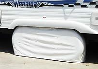 """ADCO 27 - 29"""" TANDEM DUAL AXLE TIRE COVER Motorhome RV 14"""" 15"""" rimmed tires"""