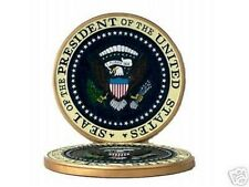 US President USA Presidential Seal Kiln Dry Podium Wood Gold