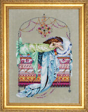 "SALE! COMPLETE XSTITCH KIT ""SLEEPING PRINCESS MD123"" by Mirabilia"
