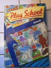 Play school Annual Published 1984. Good Condition Unclipped. MULTIPLE PHOTOS,