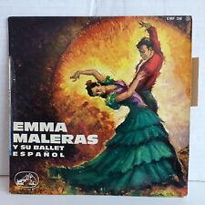 EMMA MALERAS Musica y castanuelas de Espana  Zaragozana .. 7 EMF 298 S