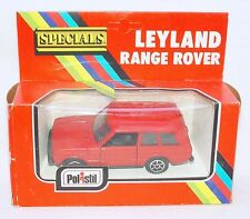 Polistil Club 33 1:43 LEYLAND RANGE LAND ROVER Model Car CE-79 MIB`77 VERY RARE!