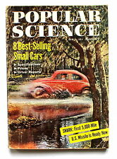 Popular Science Magazine April 1958 US Missile Best Selling Small Cars Specs