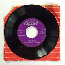 "THE VOICES OF WALTER SCHUMANN FOR ALL WE KNOW/WHOO-EE LOO-EE_SIANA 7"" 45 SINGLE"