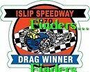 """Islip Speedway N.Y. 1970 CLASS WINNER  """" INSIDE OF WINDOW"""" DECAL/STICKER"""