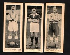 TOPICAL TIMES FOOTBALLERS PANEL PORTRAITS 1930 Coventry Leicester Sheffield #118