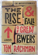 Tom RACHMAN• THE RISE AND FALL OF GREAT POWERS(2014 HC) 1st Edition/1st Printing