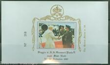 POPE JOHN PAUL II VISIT TO CANADA  & USA 1987 11  GOLDEN SERIES FIRST DAY COVERS