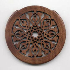Lute Hole Soundhole Cover Number 1 Walnut