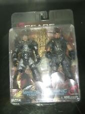 Gears Of War 2 Marcus Fenix & Dominic Santiago 7' Figures 2-Pack NECA MIB