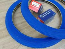 "New Kids BLUE Bicycle Tires and Tubes 18x1.95 Fits 1.75 2.125 BMX 18"" Bike"
