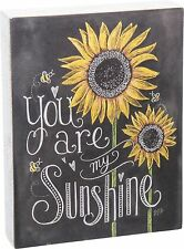 New Primitives by Kathy You Are My Sunshine Wood Box Sign