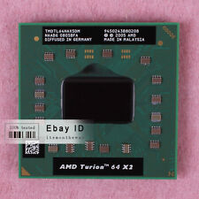AMD Turion 64 X2 TL-64 Dual-Core CPU 2.2 GHz TMDTL64HAX5CT 800 MHz 100% work