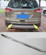 Rear Truck Door Molding cover trim for 2013-2015 Ford Escape Kuga Chrome