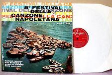 """Autori Vari - 8° FESTIVAL DELLA CANZONE NAPOLETANA 1960 LP 12"""" RARO"""