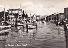 RICCIONE - Porto Canale 1959