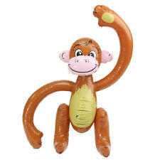 Inflatable Monkey Jungle Party Decoration Children's Blow up Toys Props Supplies