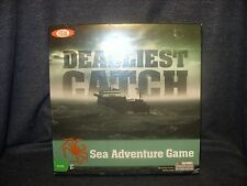 Ideal 2010 Deadliest Catch Sea Adventure Board Game Poof-Slinky VGUC