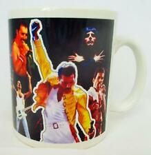 Freddie MERCURY TAZZA Freddie Mercury Collage Tributo Tazza in porcellana decorata a mano