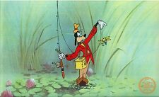 Walt Disney (After) Serigraph, Cell , Goofy How To Fish at Swamp... Lot 1733195