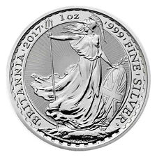 2017 Great Britain 2 Pound 1 Troy oz. .999 Silver Britannia SKU43886