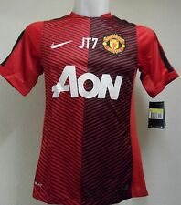 "Manchester United 2014/15 ROSSO Pre-Match Camicia ""JT7"" by Nike Adulti Taglia Small"