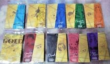 【One Piece】FILM GOLD Seven-Eleven limited All 10 species complete Clear sticker